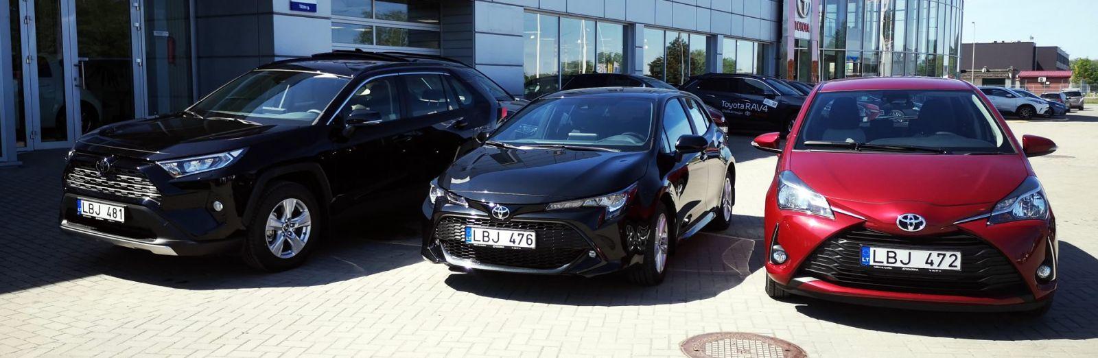 Аренда авто Клайпеда: новые Тойоты компании EuroRenta.lt