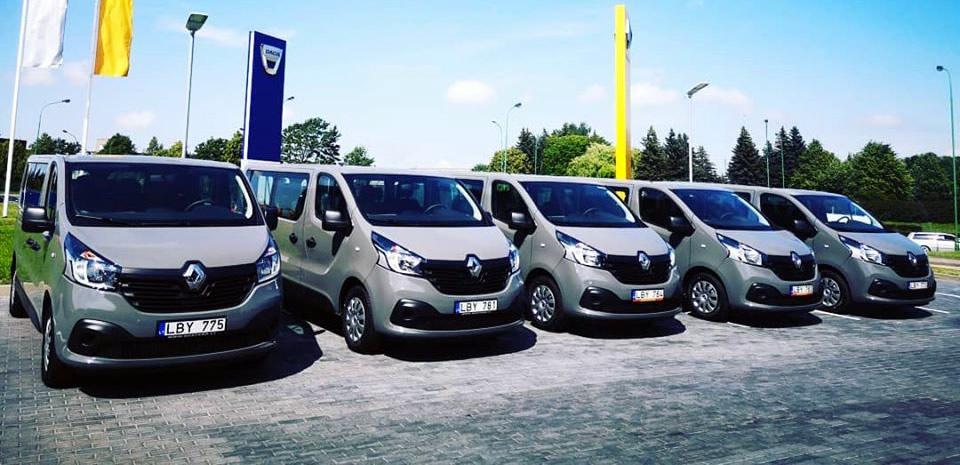 Аренда микроавтобуса в Литве | От компании Eurorenta