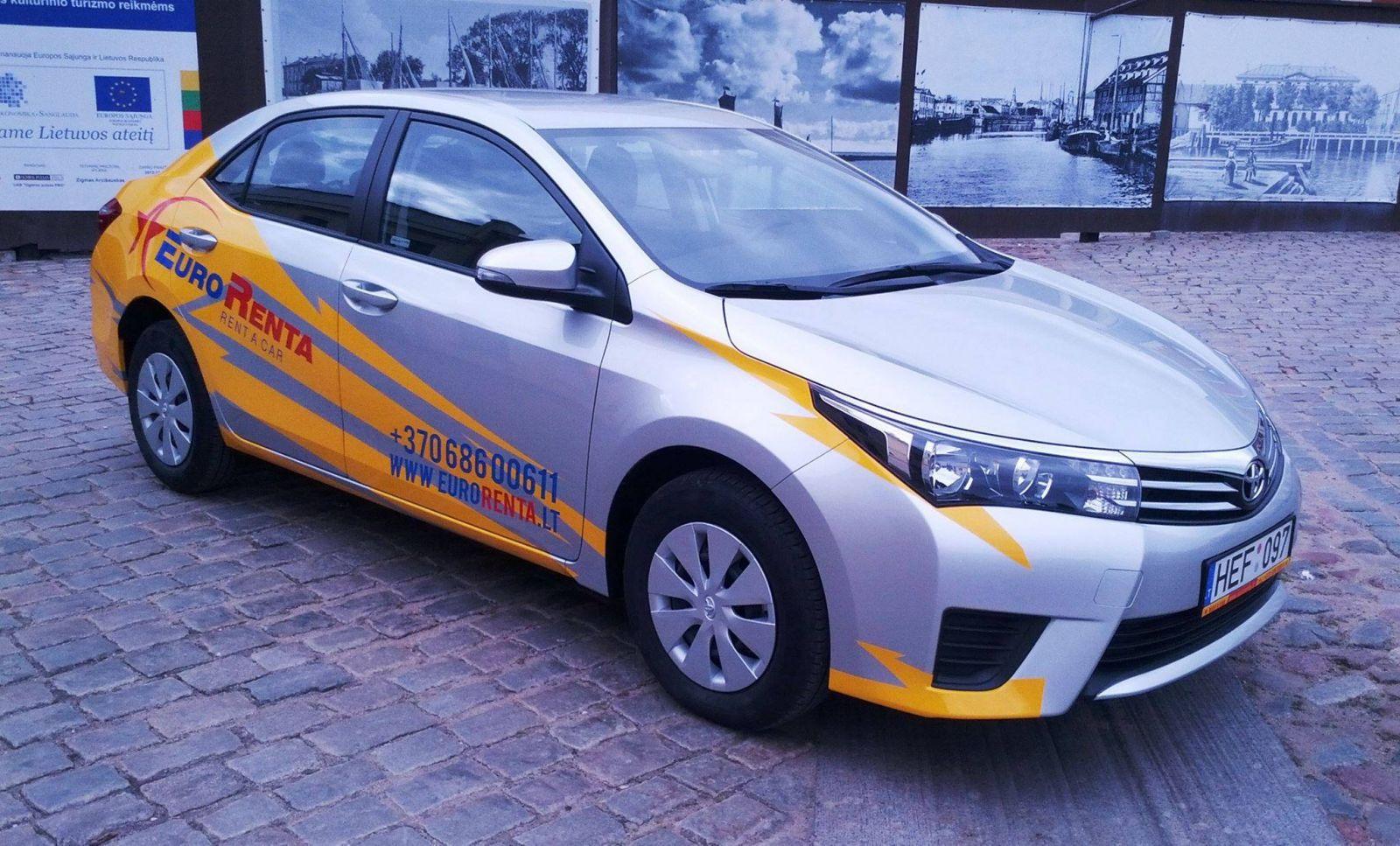 Аренда авто Клайпеда | Новые машины | Компания Eurorenta